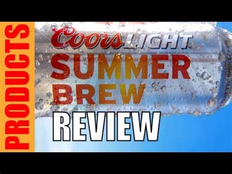 coors light summer brew review adam tom show
