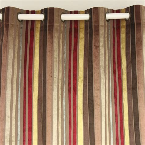 burgundy striped curtains living room burgundy curtains promotion shop for
