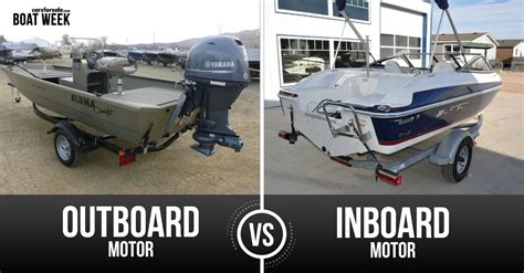 outboard motor boats boat motor matchup inboard vs outboard