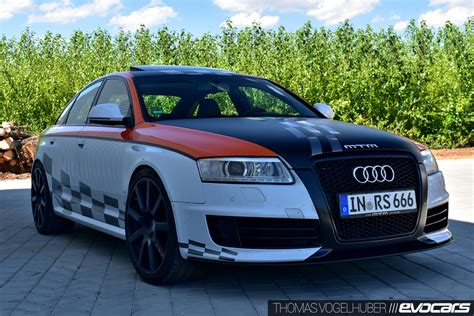 Audi Rs6 Leistung by 820 Ps Haudegen Unterwegs Im Mtm Audi Rs6 V10 Clubsport