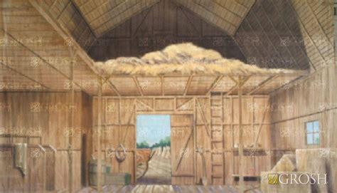 inside barn background