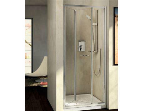 box doccia kubo box doccia in vetro temperato con porte a soffietto kubo