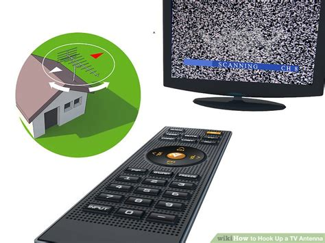 how to hook up a tv antenna 7 steps with pictures wikihow
