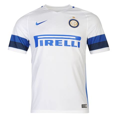 Inter Jersey nike inter milan away jersey 2016 2017 mens white blue