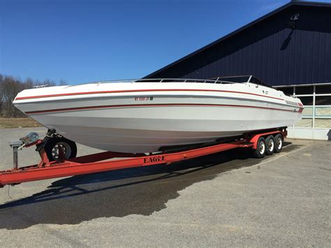 42 boat trailer for sale wellcraft excalibur 42 twin 454s with trailer 1988 for