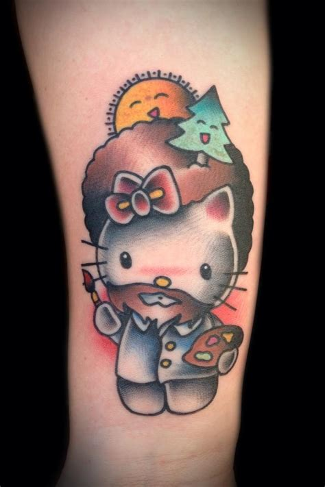 bob ross tattoo 1000 ideas about tattoos on tattoos