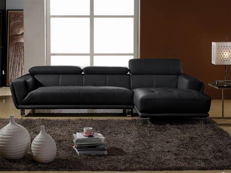 canapé d angle en cuir noir canape la maison du canap 233 prix avis notation