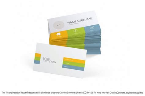free customizable business card template customizable business cards template vector free