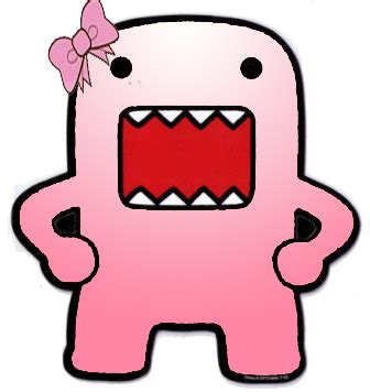 wallpaper domo pink png domo pink 5 by candybubblesweety on deviantart