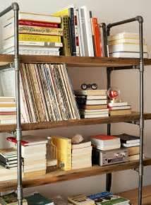 best 25 pipe bookshelf ideas on industrial