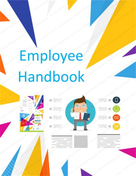 small business handbook template employee handbook template free printable sle