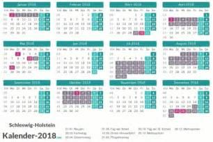 ferien schleswig holstein 2018 ferienkalender 220 bersicht