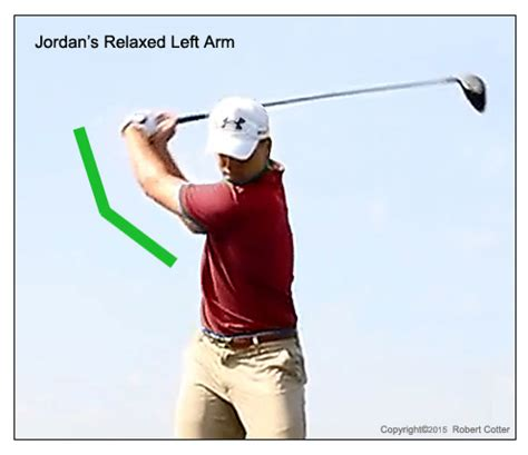 left elbow in golf swing jordan spieth golf swing