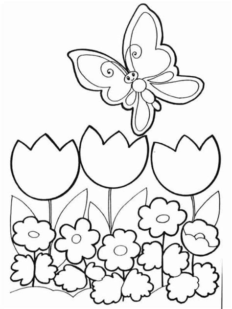 disegni da colorare e stare fiori disegni primavera da stare e colorare foto 22 38