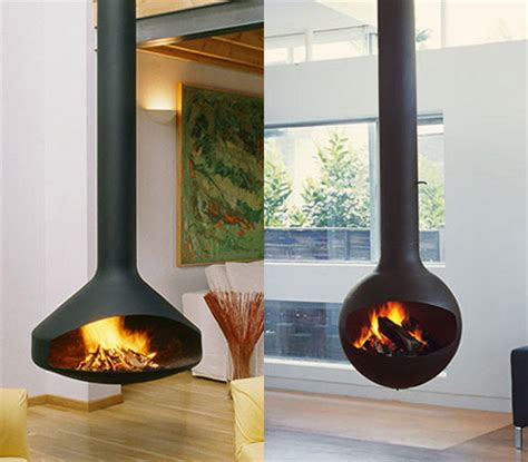 Fireorb Fireplace by Sleek Freestanding Fireplaces Designed By Malm