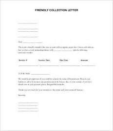 Debt Collection Template Letter Free by Collection Letters 8 Free Word Pdf Documents