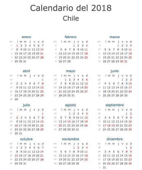 calendario 2016 que indique semanas calendario oficial feriados chile 2018 161 con fiestas
