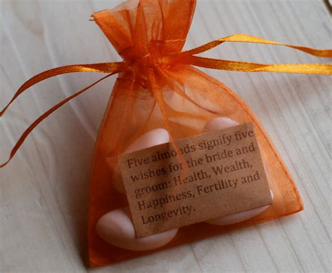 Wedding Favors Almonds by Wedding Almond Favor Bags