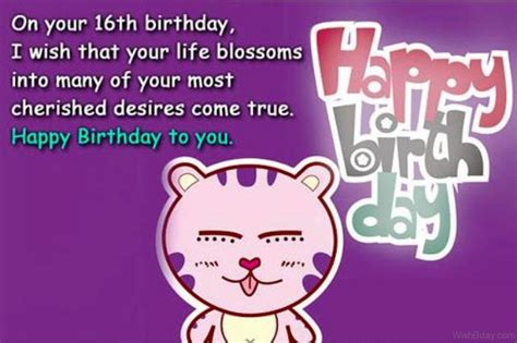 10 Birthday Greetings For Your Friends Sweet Sixteen by 14 16th Birthday Wishes