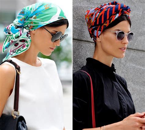 simple hair bandana for covering patch of bald head for ladies how to tie a headscarf rosette style google search footloose pinterest headscarves