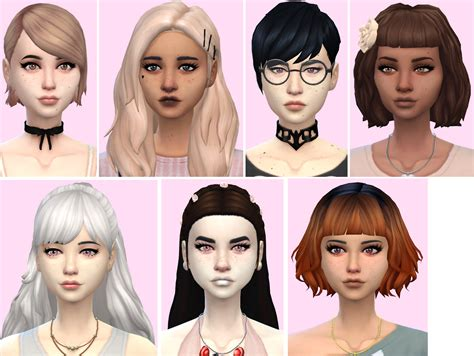 sims 4 maxis match cc hair show me your favourite maxis match hair a collection