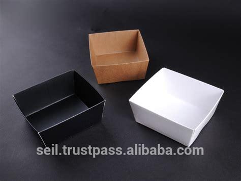 Food Grade Brown Kraft Paper Food Box Ukuran 45oz 1 350ml food grade paper box kraft paper food container buy disposal paper fast food packaging
