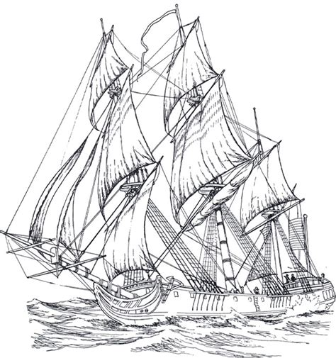 coloring pages for adults boats ships 4 adult coloring pages