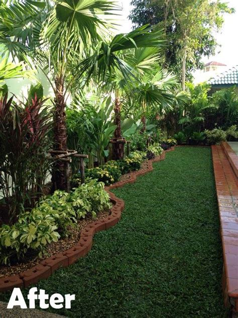 tropical backyard landscaping ideas best 25 tropical backyard landscaping ideas on