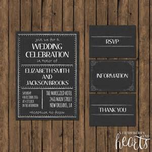 chalkboard templates 26 chalkboard wedding invitation templates free sle