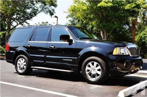 blue book used cars values 2003 lincoln blackwood lane departure warning 2003 black lincoln navigator suv for sale in gainesville florida classified americanlisted com