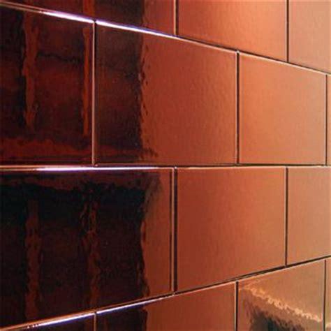 copper kitchen tiles copper tiles as a splash back kitchen