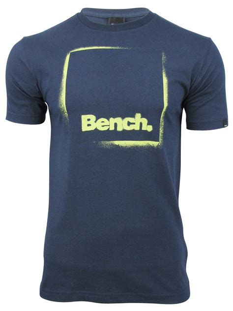 mens bench t shirts bench mens t shirt full stop short sleeved ebay