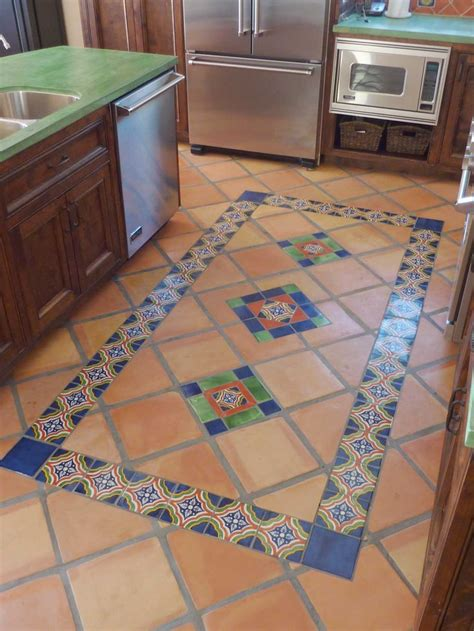 mexican tile kitchen ideas best 25 mexican tile floors ideas on pinterest mexican