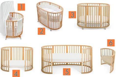 Stokke Crib System by The Stokke Sleepi System Accommodates Your Child From