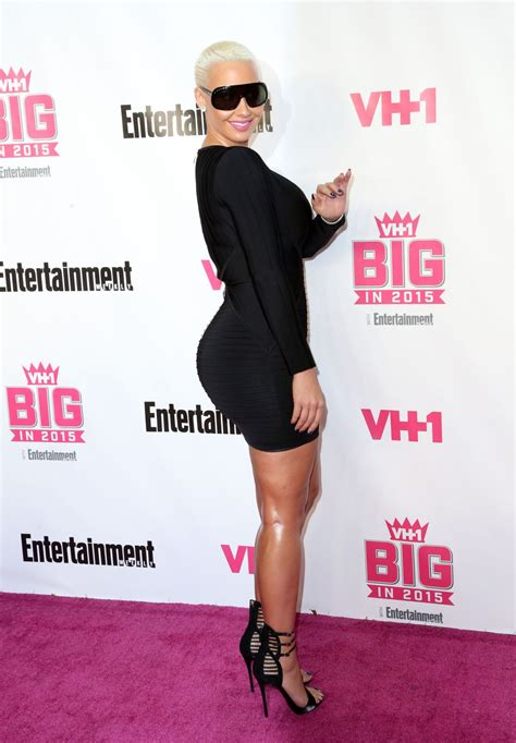vh1 big in 2015 with entertainment weekly awards amber rose at vh1 big in 2015 with entertainment weekly
