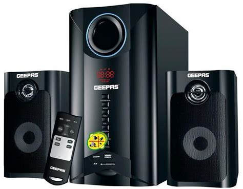 geepas 2 1 channel dvd player home theater system