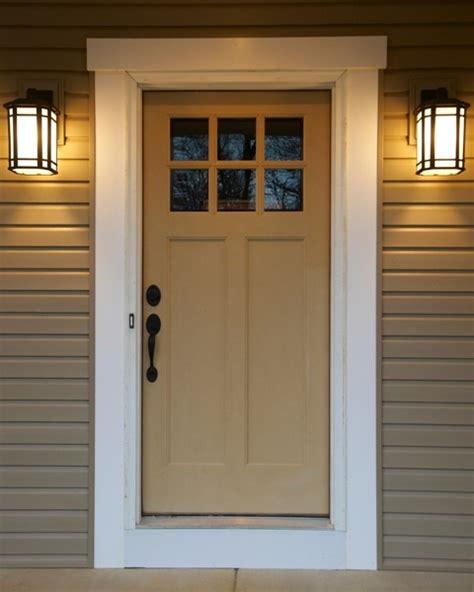 craftsman style front doors craftsman front door portage 3252 wayne homes flickr