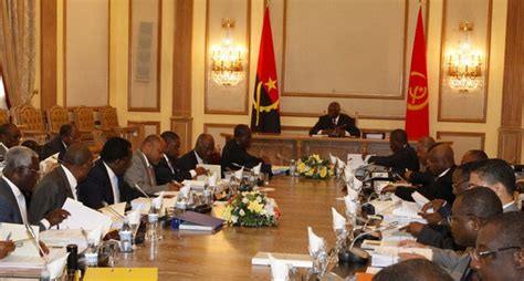 Cabinet Council by Cabinet Council Meets Wednesday Politics Angola Press