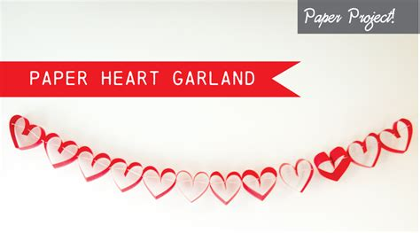 How To Make Paper Garland - how to make a paper garland i inspire d
