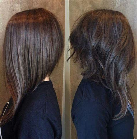 long hair in front short in back 10 best ideas about long angled bobs on pinterest long