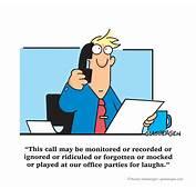 Customer Service / Call Center  Randy Glasbergen
