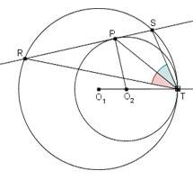 circonferenze tangenti internamente diflo