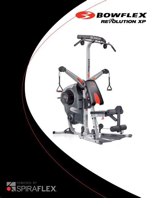 bowflex home revolutionxp user guide manualsonline