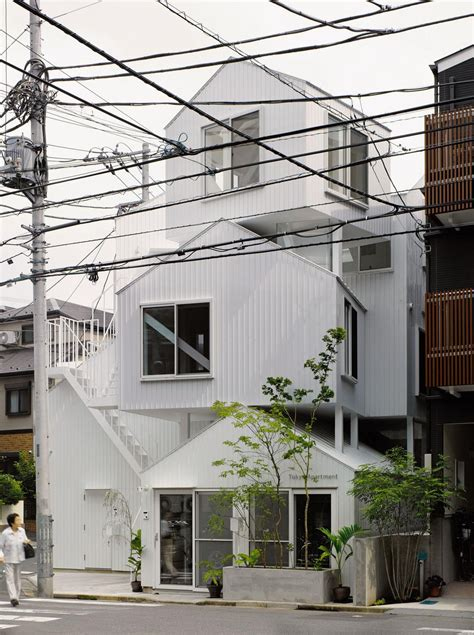Appartment In Tokyo by Tokyo Apartment By Sou Fujimoto Architects