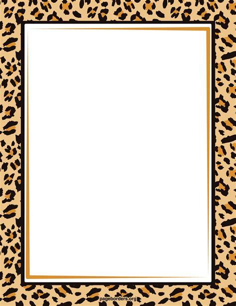 border clipart free zebra print border clip 101 clip