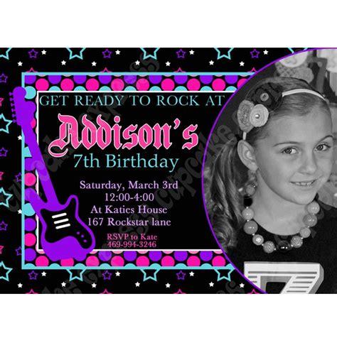 printable invitation rockstar 70 best rockstar glam ideas images on pinterest