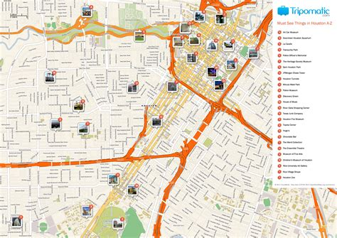 maps houston free printable map of houston attractions free tourist maps houston attractions