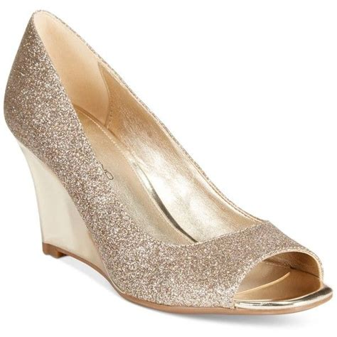 Gold Wedge Wedding Shoes by Gold Wedge Heels Ha Heel
