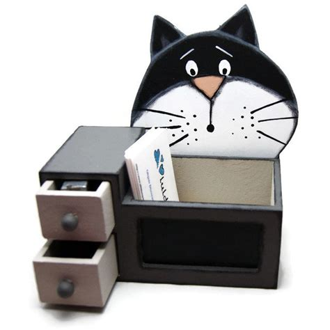 Cat Desk Accessories Desk Organizer With Black Cat Desk Accessories With Black