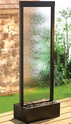 image result  plexi vertical water feature fountains